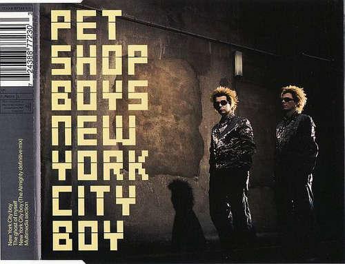 Cover Pet Shop Boys - New York City Boy (CD, Single, Enh) Schallplatten Ankauf