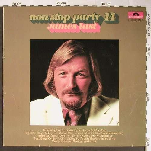 Cover James Last - Non Stop Party 14 (LP, Album, Club) Schallplatten Ankauf