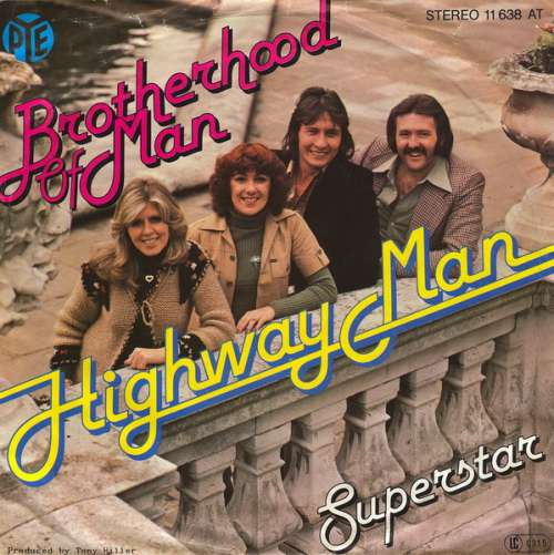 Bild Brotherhood Of Man - Highway Man / Superstar (7, Single) Schallplatten Ankauf