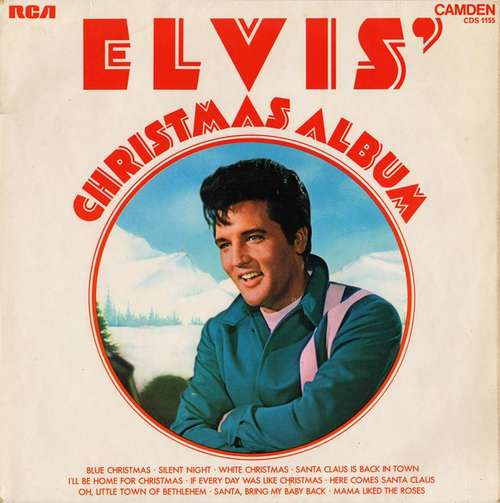 Cover Elvis Presley - Elvis' Christmas Album (LP, Album, RE) Schallplatten Ankauf