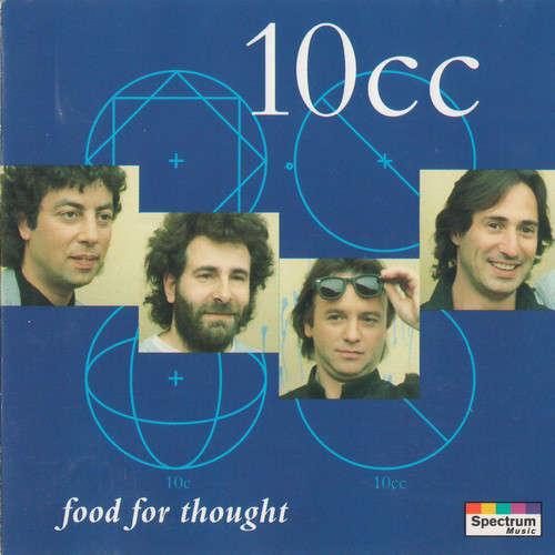 Cover zu 10cc - Food For Thought (CD, Comp, RP) Schallplatten Ankauf