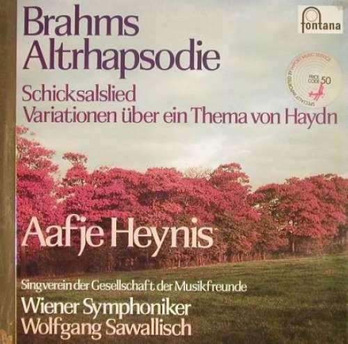 Bild Brahms*, Wiener Symphoniker, Wolfgang Sawallisch, Aafje Heynis - Altrhapsodie / Schicksalslied (LP, RE) Schallplatten Ankauf