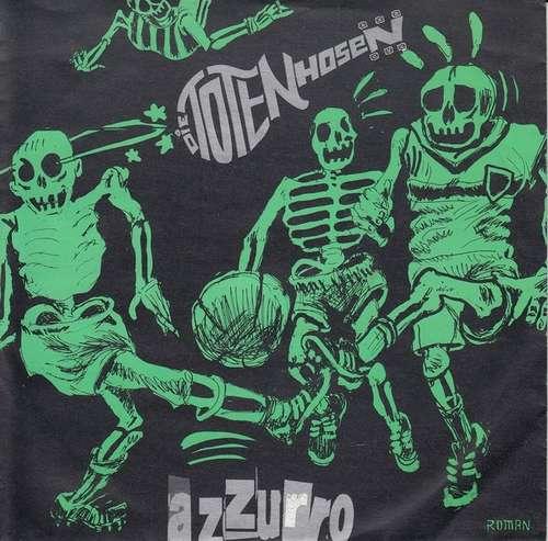 Cover Die Toten Hosen - Azzurro (7, Single, Gre) Schallplatten Ankauf