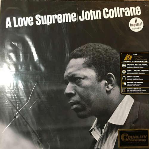 Cover John Coltrane - A Love Supreme (2x12, Album, Ltd, RE, RM, RP, Gat) Schallplatten Ankauf