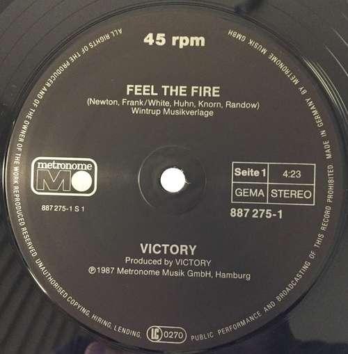 Bild Victory (3) - Feel The Fire (12, Maxi) Schallplatten Ankauf