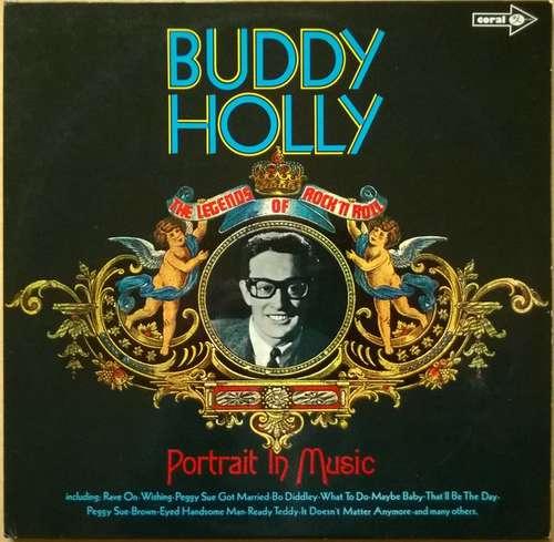 Cover zu Buddy Holly - Portrait In Music (2xLP, Comp, Gat) Schallplatten Ankauf