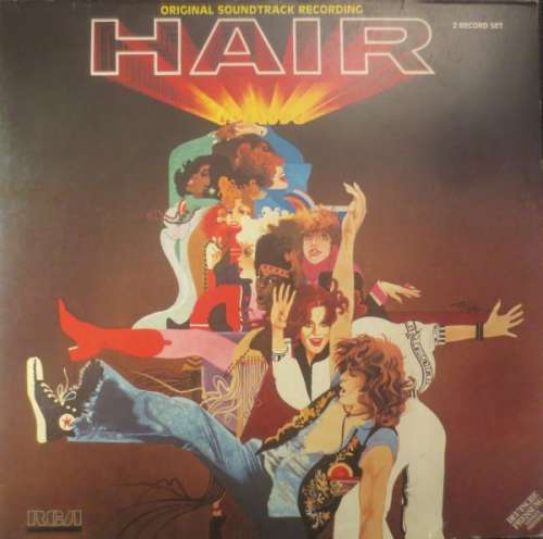 Cover zu Galt MacDermot - Hair (Original Soundtrack Recording) (2xLP, Album) Schallplatten Ankauf