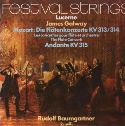 Bild Mozart* - James Galway, Lucerne Festival Strings*, Rudolf Baumgartner - Die Flôtenkonzerte Kv 313/314 + Andante, Kv 315  (LP) Schallplatten Ankauf