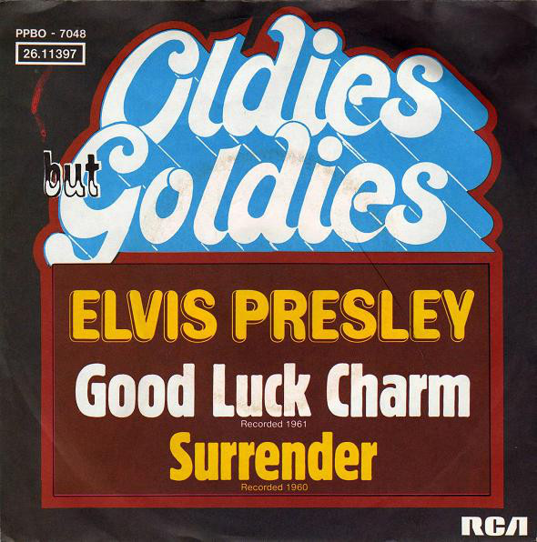 Cover Elvis Presley - Good Luck Charm / Surrender (7, Single) Schallplatten Ankauf