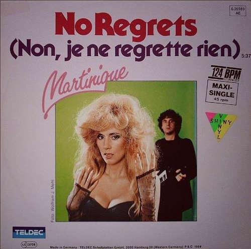 Bild Martinique (2) - No Regrets (Non, Je Ne Regrette Rien) (12, Maxi, Ora) Schallplatten Ankauf