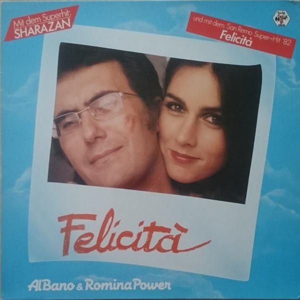 Bild Al Bano & Romina Power - Felicità (LP, Album) Schallplatten Ankauf