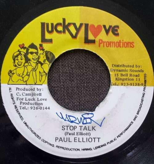 Bild Paul Elliott* - Stop Talk (7) Schallplatten Ankauf