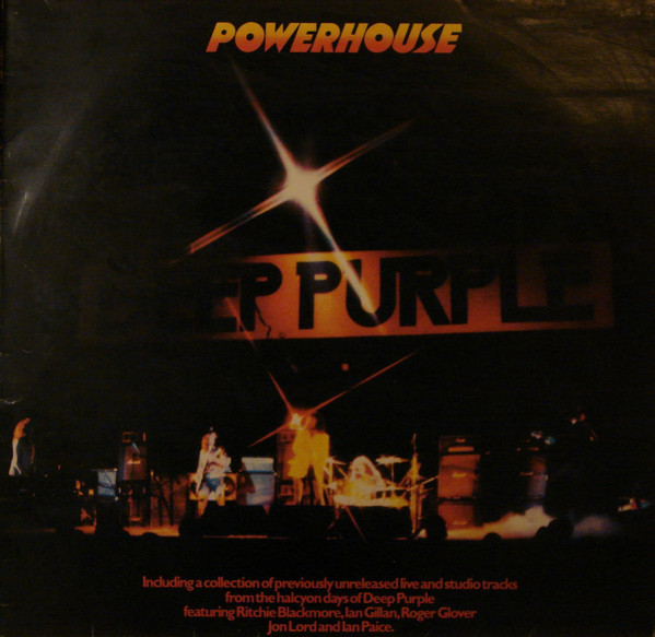 Cover Deep Purple - Powerhouse (LP, Comp) Schallplatten Ankauf