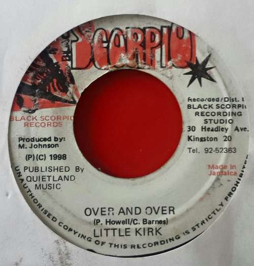 Bild Little Kirk - Over and Over (7) Schallplatten Ankauf