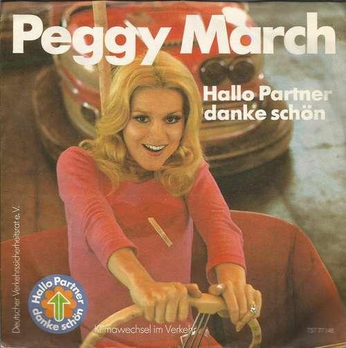 Bild Peggy March / Jürgen v. Manger* - Hallo Partner Danke Schön/Die Kunst Leute Zu Ärgern (7, Single) Schallplatten Ankauf