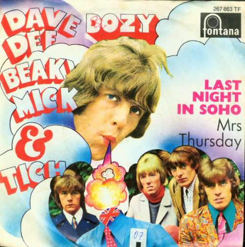 Bild Dave Dee, Dozy, Beaky, Mick & Tich - Last Night In Soho (7, Single, Mono) Schallplatten Ankauf