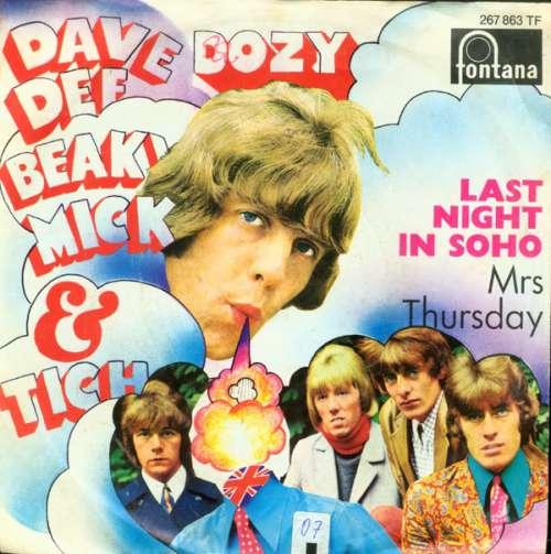 Bild Dave Dee, Dozy, Beaky, Mick & Tich - Last Night In Soho (7, Single, Mono) Schallplatten Ankauf