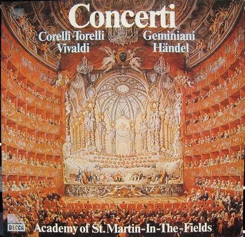 Bild The Academy Of St. Martin-in-the-Fields - Concerti (LP, Comp, Club) Schallplatten Ankauf