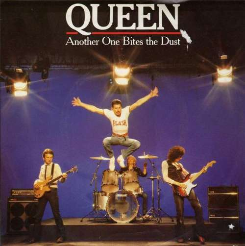 Cover Queen - Another One Bites The Dust (7, Single) Schallplatten Ankauf