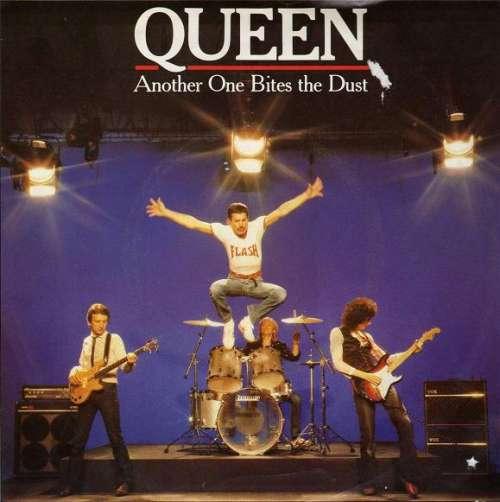 Cover Queen - Another One Bites The Dust (7, Single, EMI) Schallplatten Ankauf