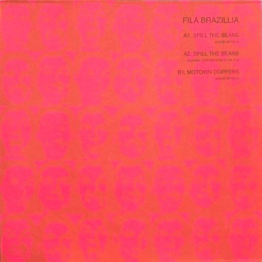 Cover Fila Brazillia - Spill The Beans (12) Schallplatten Ankauf