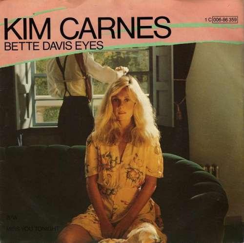 Cover Kim Carnes - Bette Davis Eyes (7, Single) Schallplatten Ankauf
