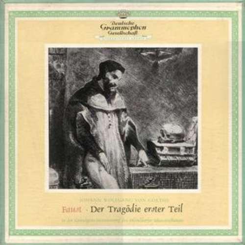 Cover Johann Wolfgang von Goethe - Faust · Der Tragödie Erster Teil (3xLP, Mono + Box) Schallplatten Ankauf