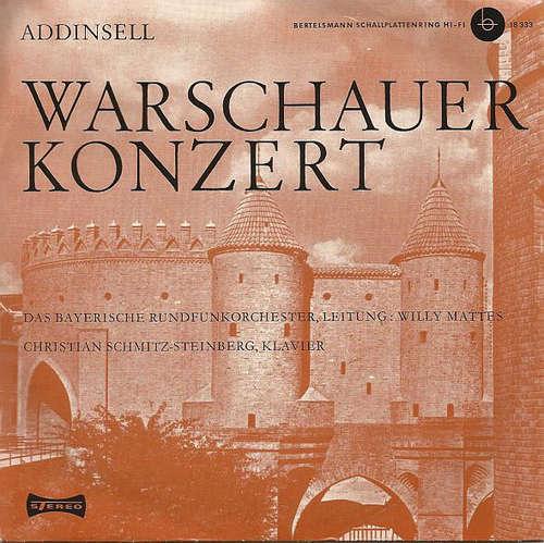 Cover zu Addinsell*, Das Bayerische Rundfunkorchester*, Willy Mattes, Christian Schmitz-Steinberg - Warschauer Konzert (7) Schallplatten Ankauf