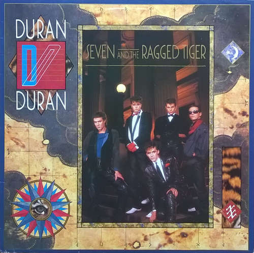 Cover zu Duran Duran - Seven And The Ragged Tiger (LP, Album) Schallplatten Ankauf