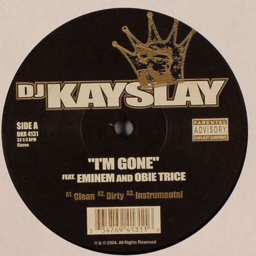 Cover zu DJ Kayslay* - I'm Gone / The Truth (12) Schallplatten Ankauf