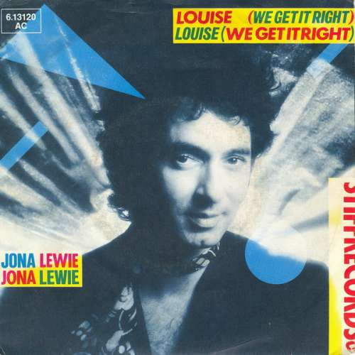 Bild Jona Lewie - Louise (We Get It Right) (7, Single) Schallplatten Ankauf