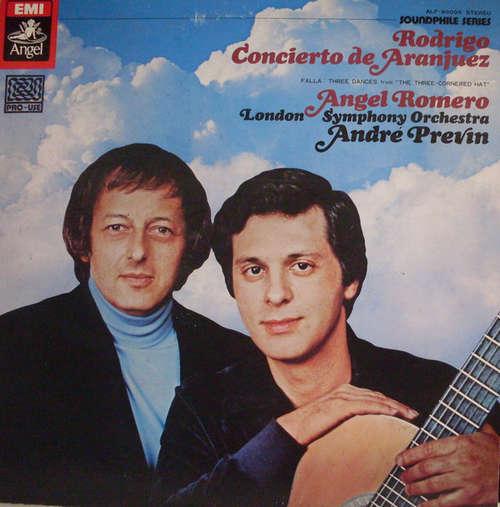 Bild André Previn Conducts London Symphony Orchestra* - Rodrigo* And Angel Romero (2) - Concierto De Aranjuez / Fantasia Para Un Gentilhombre (LP) Schallplatten Ankauf