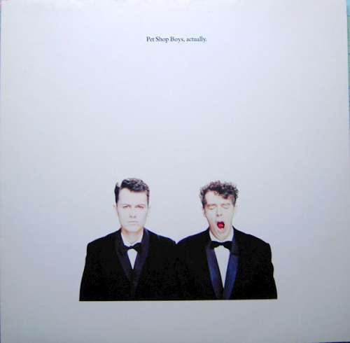 Cover Pet Shop Boys - Actually (LP, Album) Schallplatten Ankauf