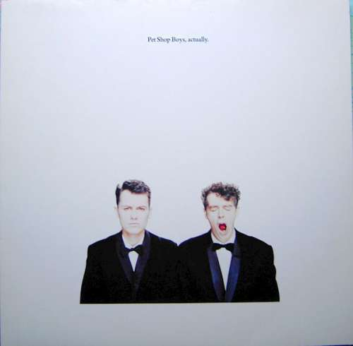 Cover zu Pet Shop Boys - Actually (LP, Album) Schallplatten Ankauf
