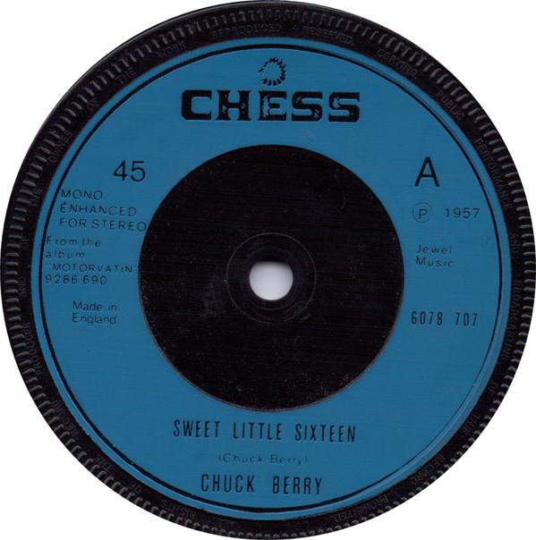 Bild Chuck Berry - Sweet Little Sixteen / Guitar Boogie (7, Single, RE) Schallplatten Ankauf