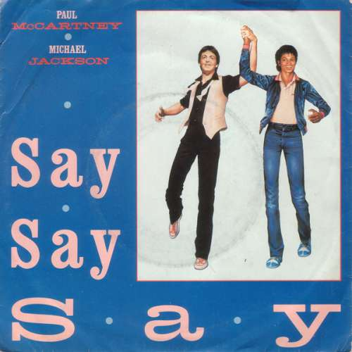 Cover Paul McCartney & Michael Jackson - Say Say Say (7, Single) Schallplatten Ankauf
