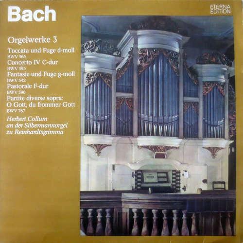 Bild Bach*, Herbert Collum - Orgelwerke 3 (LP, RP) Schallplatten Ankauf