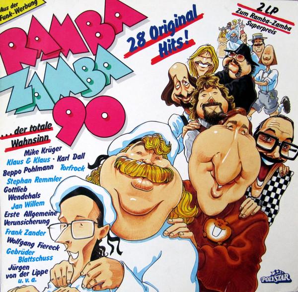 Cover Various - Ramba Zamba '90 - Der Totale Wahnwitz (2xLP, Album, Comp) Schallplatten Ankauf