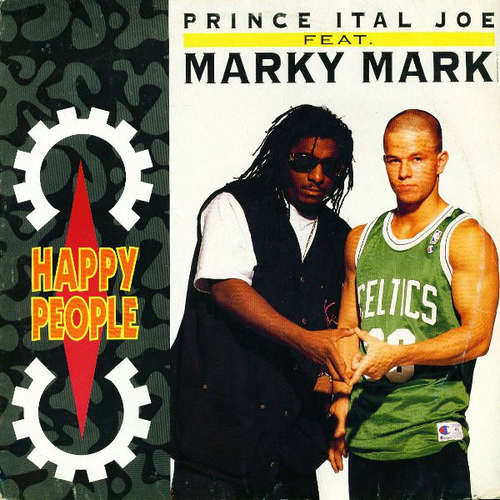 Cover Prince Ital Joe Feat. Marky Mark - Happy People (12) Schallplatten Ankauf