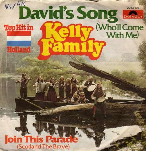 Cover The Kelly Family - David's Song (Who'll Come With Me) / Join This Parade (Scotland The Brave) (7) Schallplatten Ankauf