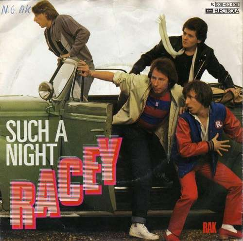 Cover zu Racey - Such A Night (7, Single) Schallplatten Ankauf