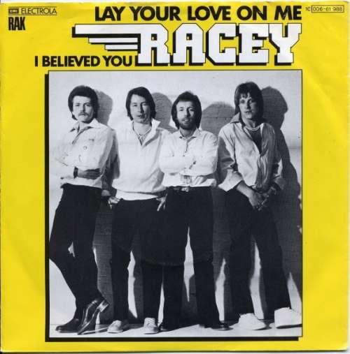 Bild Racey - Lay Your Love On Me (7, Single) Schallplatten Ankauf