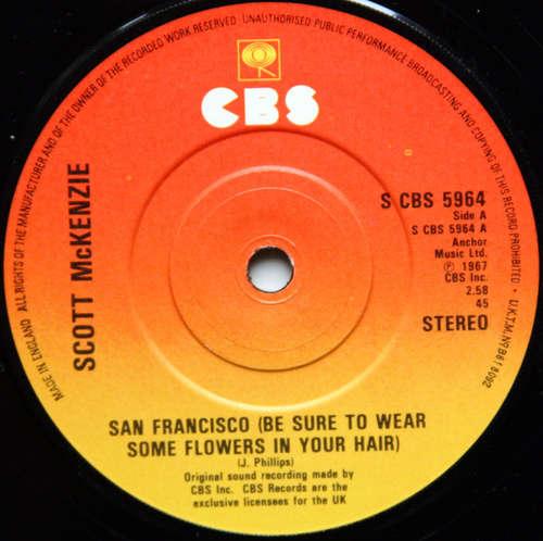Cover zu Scott McKenzie - San Francisco (Be Sure To Wear Some Flowers In Your Hair) (7, Single, RE, Sun) Schallplatten Ankauf