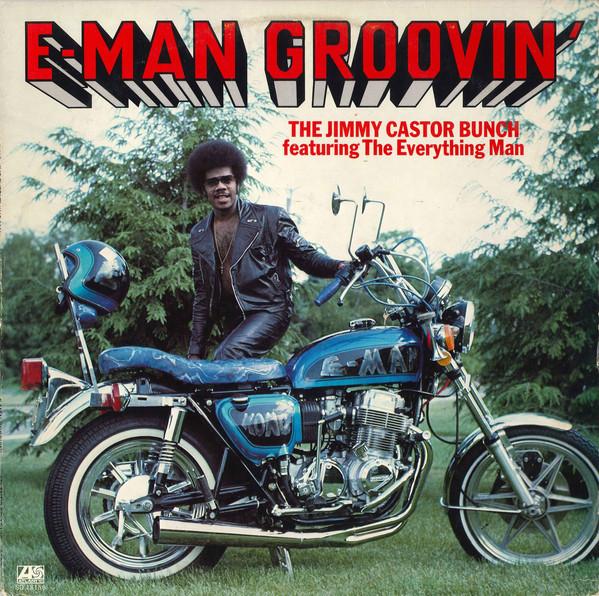 Cover zu The Jimmy Castor Bunch Featuring The Everything Man - E-Man Groovin' (LP, Album, PR ) Schallplatten Ankauf