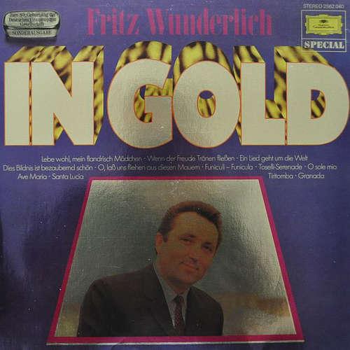 Cover zu Fritz Wunderlich - In Gold (LP, Comp, S/Edition) Schallplatten Ankauf