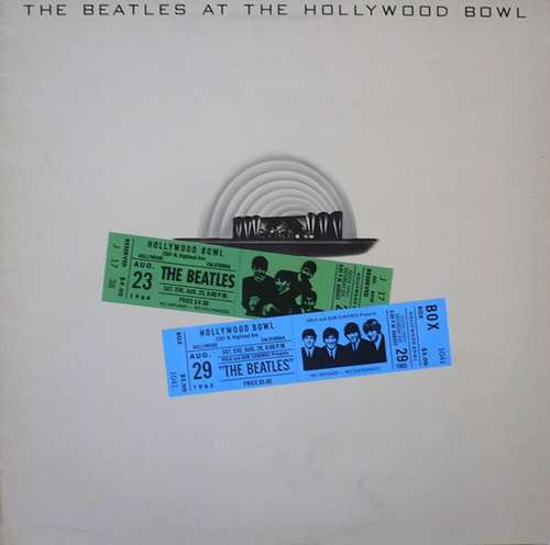 Cover The Beatles - The Beatles At The Hollywood Bowl (LP, Album) Schallplatten Ankauf