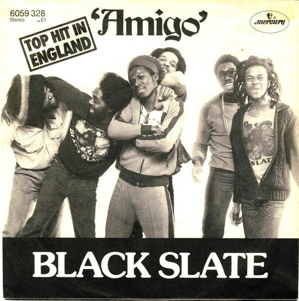 Cover Black Slate - Amigo (7, Single) Schallplatten Ankauf