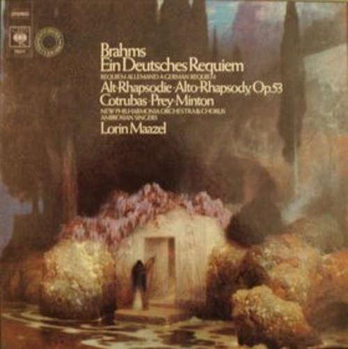 Bild Brahms* – Cotrubas*, Prey*, Minton*, New Philharmonia Orchestra & Chorus*, Ambrosian Singers*, Lorin Maazel - Ein Deutsches Requiem • Alt-Rhapsodie, Op. 53 (2xLP + Box) Schallplatten Ankauf