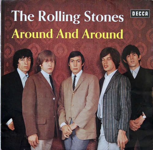 Cover zu The Rolling Stones - Around And Around (LP, Album, Comp, Mono) Schallplatten Ankauf