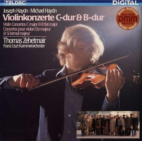 Bild Joseph Haydn, Michael Haydn, Thomas Zehetmair, Franz Liszt Kammerorchester* - Violinkonzerte C-Dur & B-Dur (LP) Schallplatten Ankauf